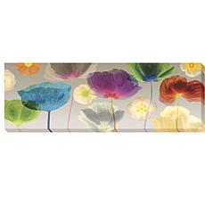 "Robert Mertens ""Poppy Panorama"" Canvas Wall Art"