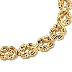 "Roberto by RFM ""Annondato"" Equestian Loop Link Necklace"
