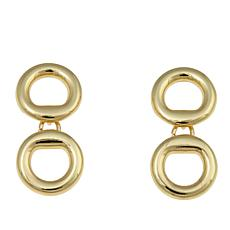 "Roberto by RFM ""Sempre"" Double-Oval Drop Earrings"