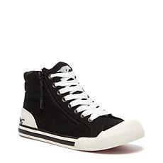 RocketDog Jazzin High Top Canvas Lace Up Sneaker