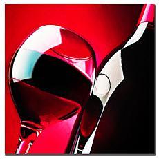 "Roderick Stevens ""Red Wine"" Canvas Art"