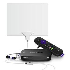 Roku Ultra 4K UHD Wi-Fi Streaming Media Player with Mohu TV Antenna