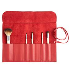 Royce Leather Makeup Brush Case