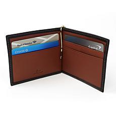 Royce Personalized RFID-Blocking Money Clip Wallet