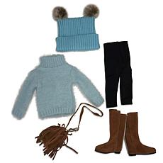 Ruby Red Fashion Friends Hooray for Pom Poms Outfit Set