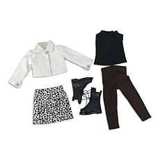 Ruby Red Fashion Friends Seeing Spots Outfit Set
