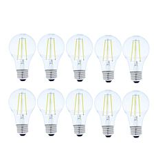 S2 10-pack 60-Watt Dimmable Filament Cool White Light Bulb