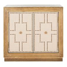Safavieh Azuli 2-Door Acacia Chest