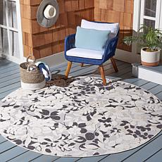 "Safavieh Cabana Lucas 6'-7"" x 6'-7"" Round Indoor/Outdoor Rug"