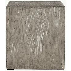 Safavieh Cube Concrete Accent Table - Gray