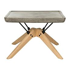 Safavieh Delartin Modern Concrete Coffee Table