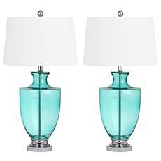 "Safavieh Desiree 30"" Glass Table Lamp"