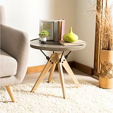 Safavieh Farmond Modern Concrete Side Table