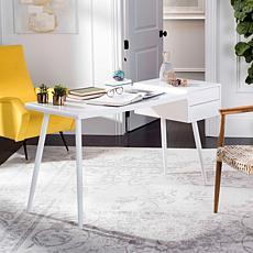 Safavieh Ferli Mid-Century Scandinavian Two-Drawer Desk