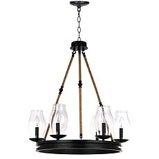 "Safavieh Fritz 25"" Diameter Adjustable Chandelier"