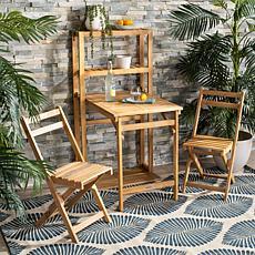 Safavieh Griffen 3-piece Balcony Dining Cabinet Set