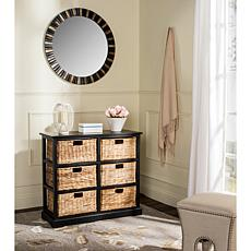 Safavieh Keenan 6 Wicker Basket Storage Chest