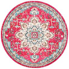 "Safavieh Madison Flora 6'-7"" x 6'-7"" Round Rug"
