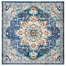 "Safavieh Madison Flora 6'-7"" x 6'-7"" Square Rug"