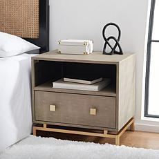 Safavieh Meilana 1-Shelf 1-Drawer Nightstand