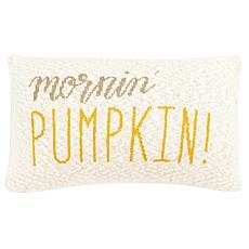 """Safavieh Mornin' Pumpkin 12"""" x 20"""" Pillow"""