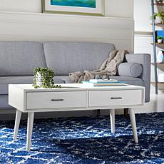 Safavieh Mozart Mid-Century 2-Drawer Coffee Table