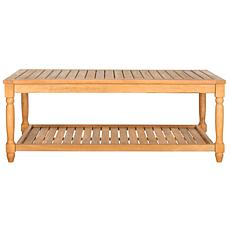 Safavieh Oakley Outdoor Coffee Table - Teak Finish