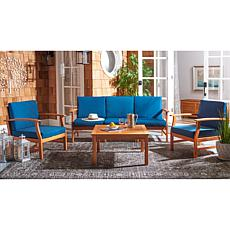 Safavieh Parcer 4-Piece Living Set