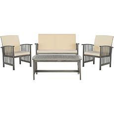 Safavieh Rocklin 4-piece Outdoor Living Set