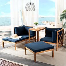 Safavieh Ronson 5-piece Outdoor Sectional Set
