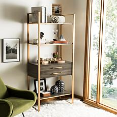Safavieh Skylar 4-Tier 1-Drawer Etagere