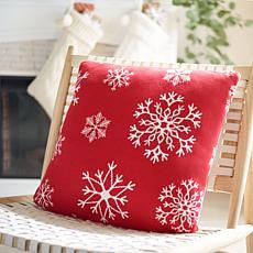 Safavieh Snowflake Pillow