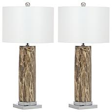"Safavieh Sonia Faux Marble 31-1/4"" Table Lamp"