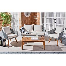 Safavieh Velso 4-piece Outdoor Living Set