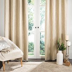 "Safavieh Veria Window Panel - Beige - 52"" x 96"""