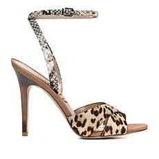 Sam Edelman Aly Leopard-Print Haircalf Dress Sandal
