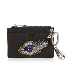 Sam Edelman Embroidered Eye Credit Card Wallet