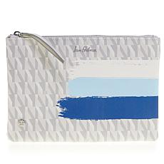 Sam Edelman Ingrid Printed Pouch/Travel Clutch