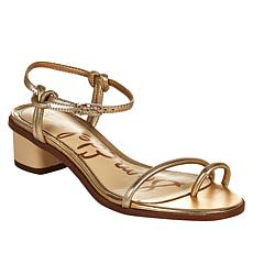 Sam Edelman Isle Strappy Leather Toe Loop Sandal
