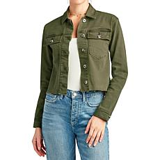 Sam Edelman The Aimmie Jacket - Moss Green
