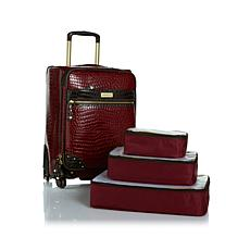 """Samantha Brown 21"""" Upright Spinner with Packing Cubes"""
