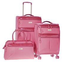 Samantha Brown 3-piece Ultra Lightweight Luggage Set
