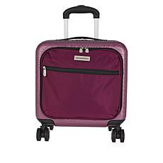 Samantha Brown Croco-Embossed Hardside Underseat Bag