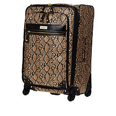 "Samantha Brown Embossed 26"" Upright Spinner"
