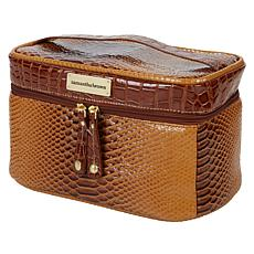 Samantha Brown Ombré Croco Embossed Cosmetic Case
