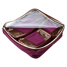 Samantha Brown Slim Line Packing Cubes 4-piece Set