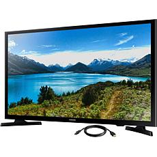 """Samsung 32"""" LED-LCD TV with 6' High-Speed HDMI Cable with Ethernet"""