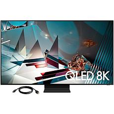 "Samsung 65"" Q800T QLED 8K UHD HDR Smart TV with HDMI Cable"