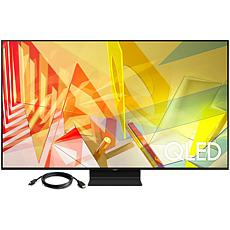 """Samsung 65"""" Q90T QLED 4K UHD HDR Smart TV with HDMI Cable"""