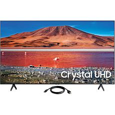 "Samsung 65"" TU7000 Crystal UHD 4K Smart TV (2020) with HDMI Cable"